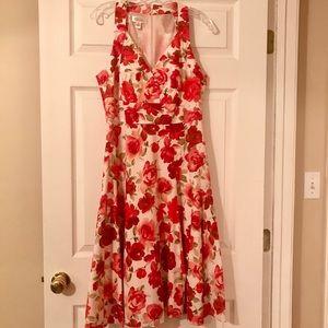 Talbots Floral Summer Dress